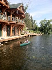 Cooperstown cabin photo - Kayaking right from The Boathouse/Clubhouse.