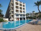 View of El Presidente from the beach - Siesta Key condo vacation rental photo