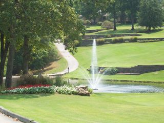 Branson condo photo - Pond and Fountain beautifully manicured along the golf course