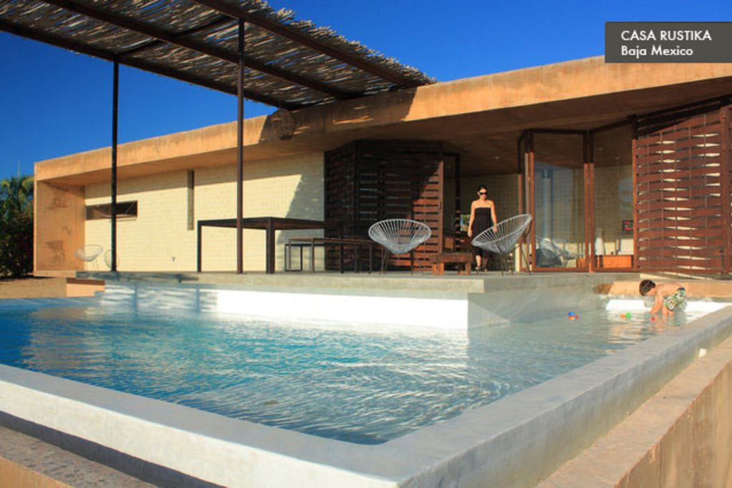 casa moderna modern beach house with pool todos santos