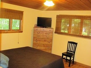 Traverse City cottage photo - Master Suite with Flat Screen TV