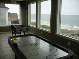 Garden City Beach house photo - New game room/8th bedroom. New full bed not shown