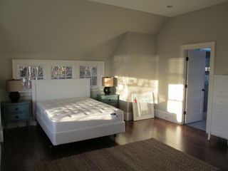 Provincetown estate photo - Queen sized bedroom studio suite with private bath, dining area, deck & kitchen