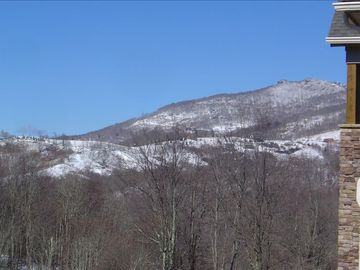 View of Beech Mountain From The Deck