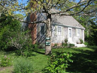 Edgartown house photo - Charming Expanded Cape with Multi Level Patio Area's with Garden's