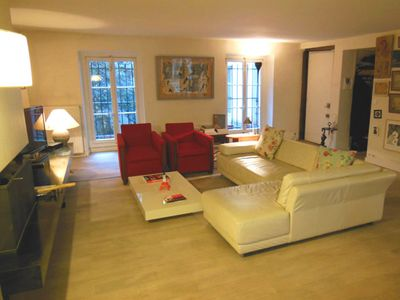 1st Arrondissement Louvre house rental - Living Room