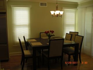 Seaside Heights townhome photo - Dining Area