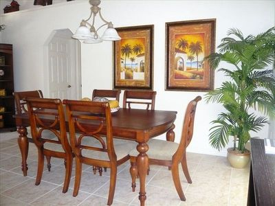 Rotonda villa rental - Formal Dining Area