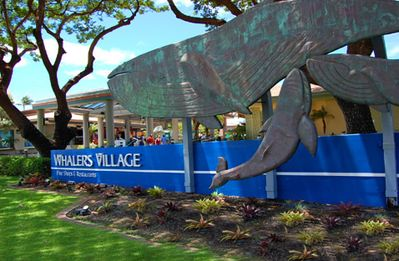 Whaler's Village is right next door! Convenient shopping, dining & entertainment