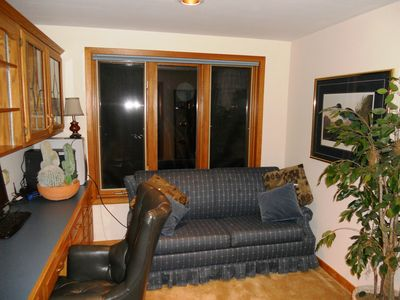 Moultonborough house rental - office with pull out sleeper and wireless internet