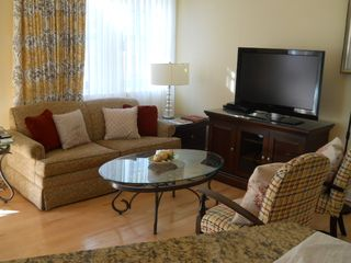 Isle of Palms condo photo - Living Room- Cable and WiFi Included