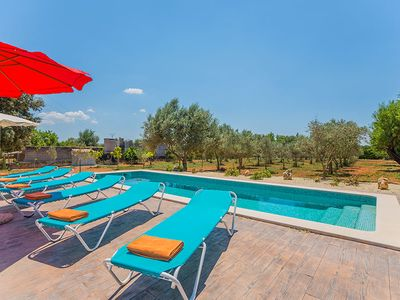 Chill-outecke, private pool, WIFI, large terrace