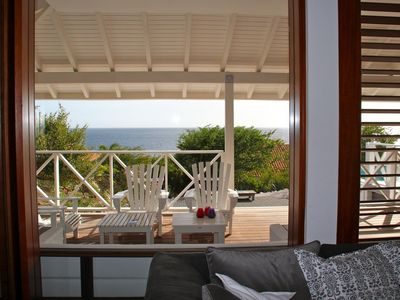 Luxury seafront villa with private pool and sea view at Jan Thiel Bay