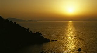 Hydra Island villa photo - Spectacular sunsets from Villa Selana