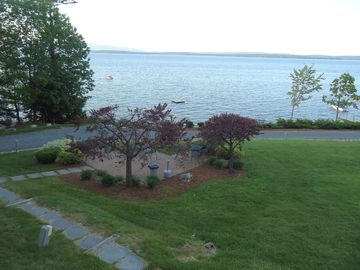 Samoset property grounds, patio area outside pool/clubhouse