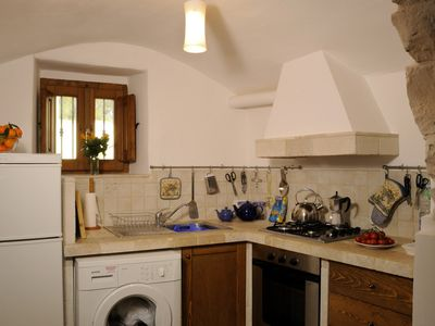 Alberobello villa rental - Kitchen now with dishwaher and coffee machine