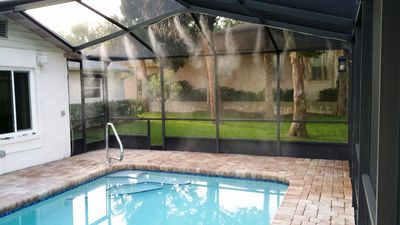 Waterfront Home, Heated Saltwater Pool w/Misting System, Kayaks, Boatlift & Dock