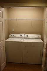 Tybee Island condo photo - HE Full size washer dryer