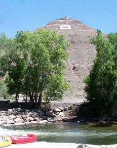 Salida Whitewater park and Tenderfoot Mtn. is steps away from the patio