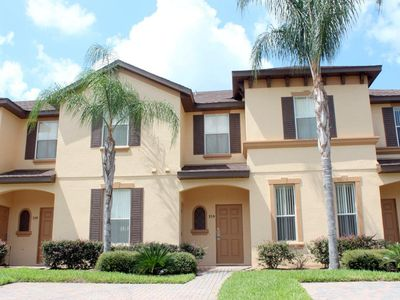Regal Palms townhome rental - Front of townhouse