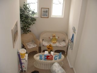 Wildwood condo photo - Bright Cheerful landing to enjoy reading or a short nap.