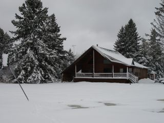 Rapid River lodge photo - Winter Time at the lodge