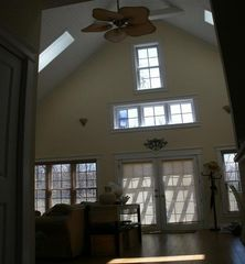 New Buffalo cottage photo - View from Hall of Great Room