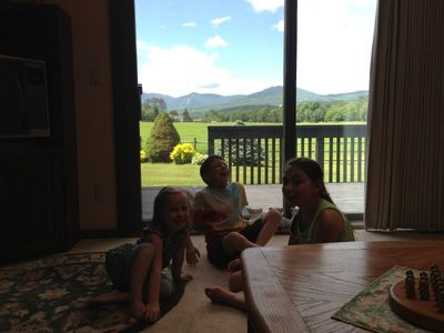 View of Mt. Mansfield from living room