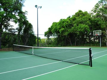 Tennis and Basketball Court. Vacation Rentals