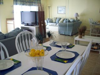 Royal Hawaiian Ocean City condo photo - Dining, living area