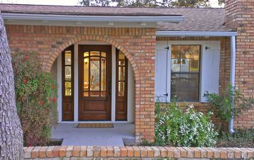 Jonestown house rental - Entrance, this home was completely remodeled in 2012 and is just beautiful!