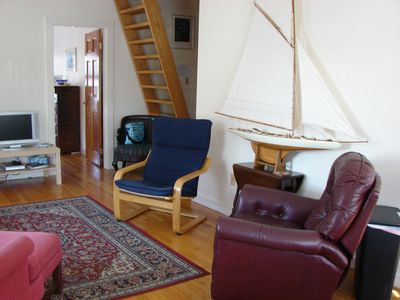 Living area -ship ladder