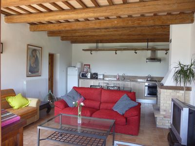 Francavilla d'Ete apartment rental - Bramante's living room with lots of space
