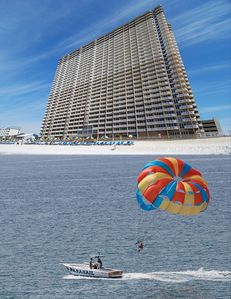 Parasailing, Jet Skis, Banana Boat Rides - it is all here at the resort