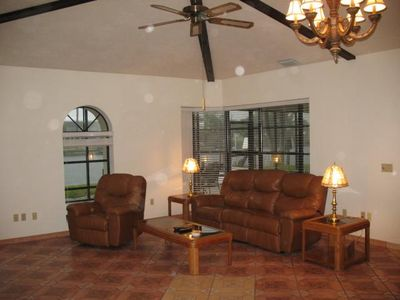 Cape Coral house rental - Living Room
