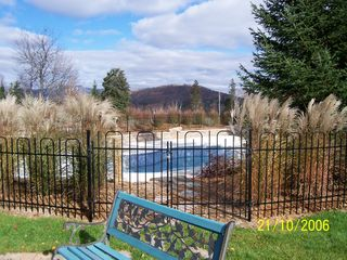 Mont Tremblant townhome photo - The Pool Area (there are two Heated Pools)
