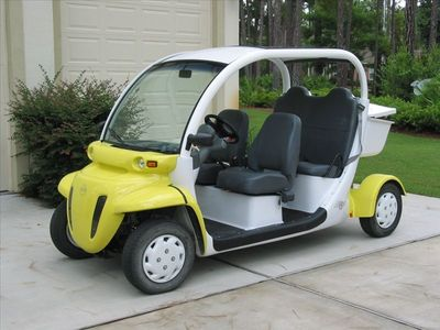 Electric Car (GEM car) gets you & stuff to deeded beach access. New key sw Dec11