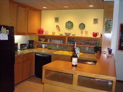 great kitchen -  cook and look out at the lake or BBQ on the patio.