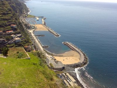 Neighouring Village Calheta with sandy beach