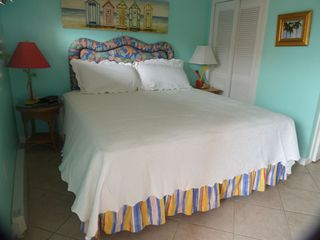 Cherry Grove Beach condo photo - King Bed