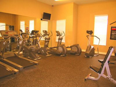 Fitness room 24 7 free of use in clubhouse