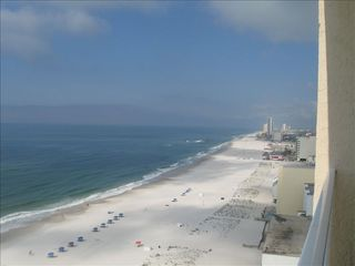 Gulf Shores condo photo - Gulf view looking west from balcony.