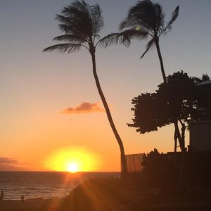 Sunset at Kamaole II Beach, less than a 2 minute walk from condo door