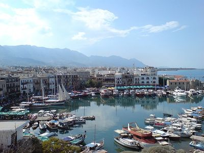 beautiful kyrenia harbour