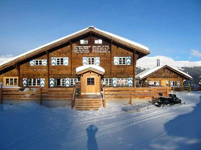 Klosters chalet rental - Main building