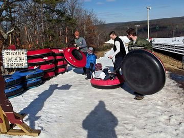 Or go Snow Tubing