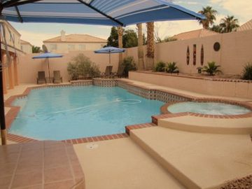 Las Vegas house rental - Relaxing Pool