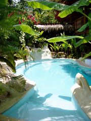 Puerto Viejo bungalow photo - Salt water pool to relax in!