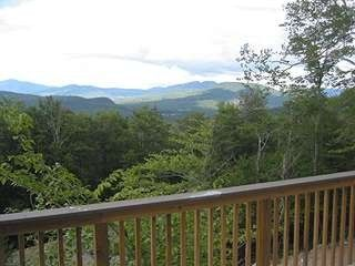 Northeast closer view from the deck - Bartlett house vacation rental photo