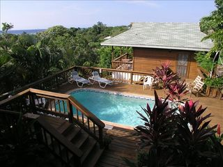 Roatan house photo - Swimming Pool view of Casita